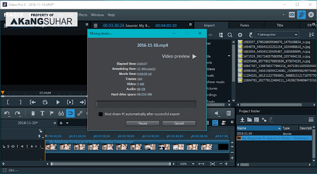 Download MAGIX Video Pro X8 15.0.3.144 Full Version Terbaru