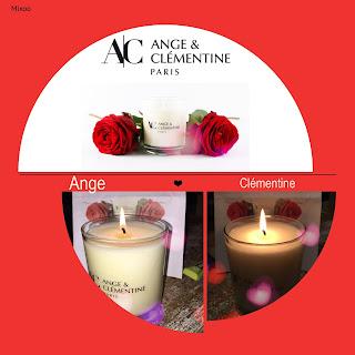 Bougie parfumée décoration saint valentin déclaration d'amour