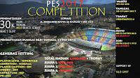 Info Kompetisi PES 2017 di Lampung 28 Januari 2017