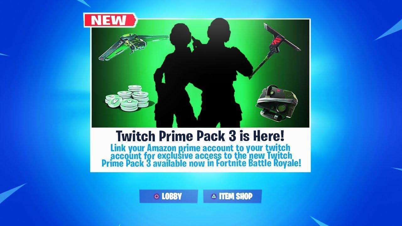 Pack Twitch Prime Fortnite 2019 | Fortnite Generator Account Free