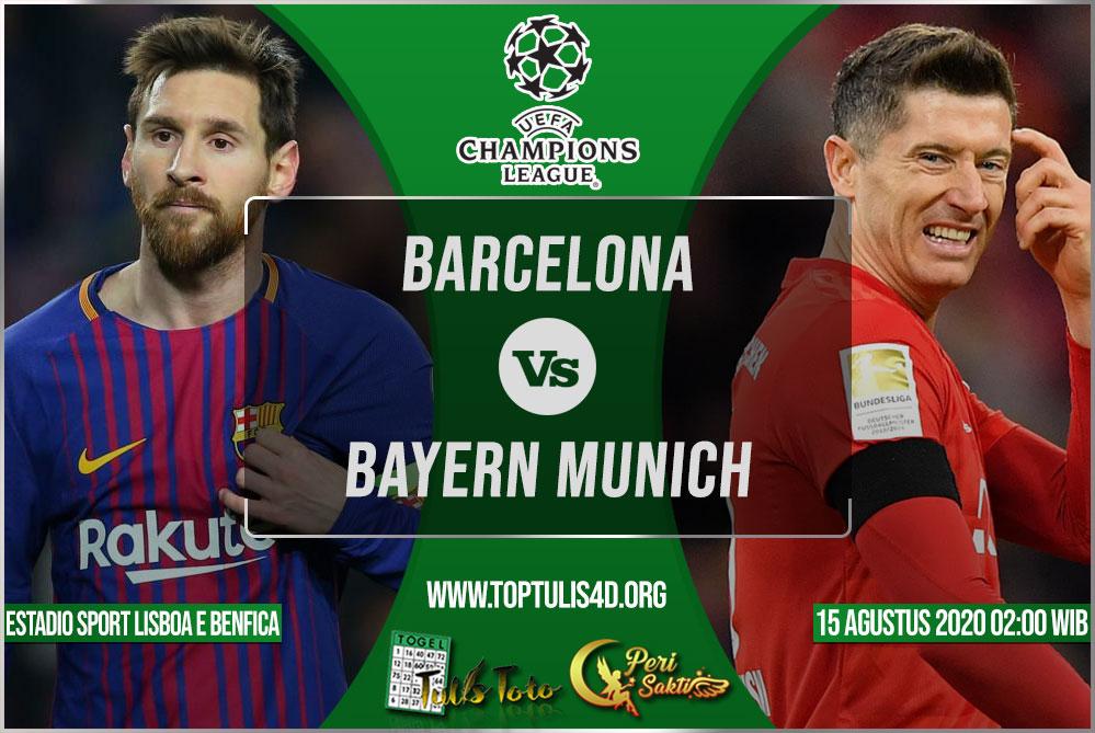 Prediksi Barcelona vs Bayern Munich 15 Agustus 2020