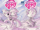 My Little Pony Micro Series #9 Comic Cover Double Variant