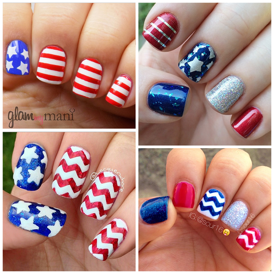 Happy 4th Of July 2017 Nice Nail Art Designs Independence Day Best Nail Art