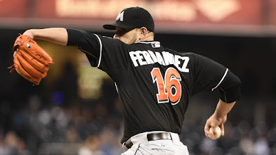 MLB : Fernandez on Fire as Fish Host Nats