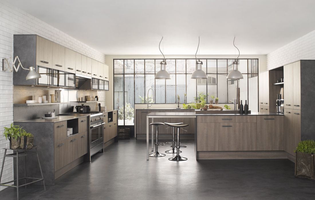 13 cuisines loft le blog de loftboutik for Idee design