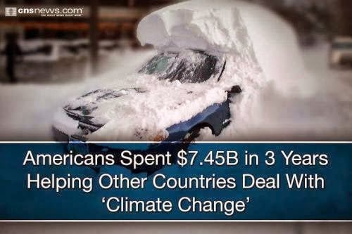 Global warming the greatest hoax since
