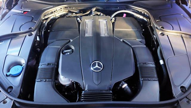 Động cơ Mercedes Maybach S400 4MATIC 2017 vận hành mạnh mẽ và vượt trội