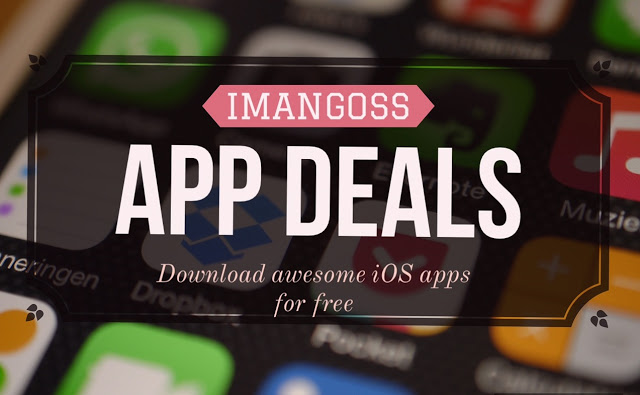 we bring you a daily app deals for you to download these awesome paid iOS apps for iPhone/iPad for free for limited time because we don't know when their price could go up in the App Store.