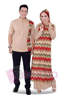 Model Baju Batik Sarimbit Busana Muslim Remaja