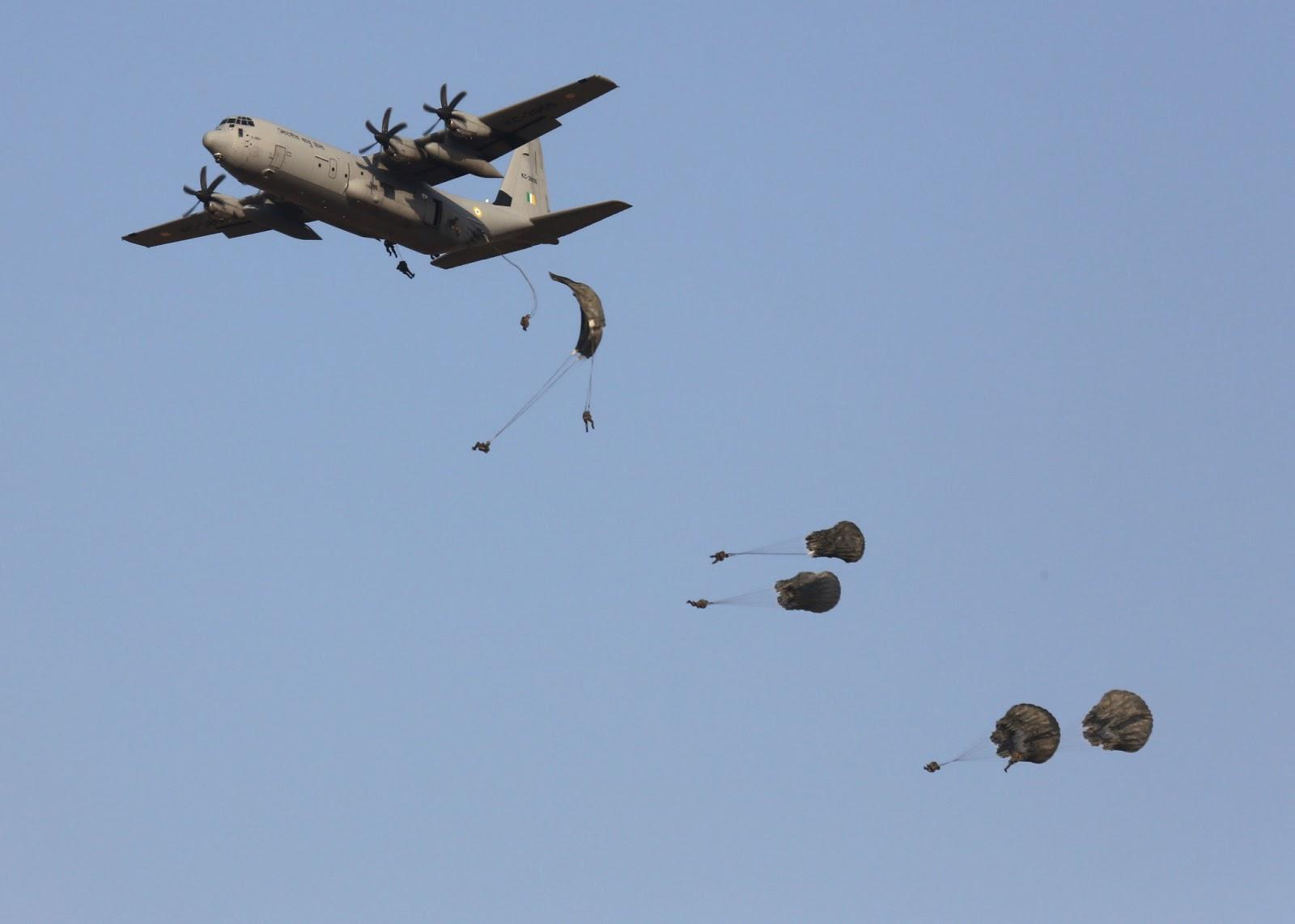 Indian C 130j Super Hercules In Action Global Military Review