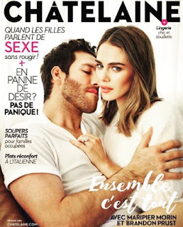 On Magazine Cover Together