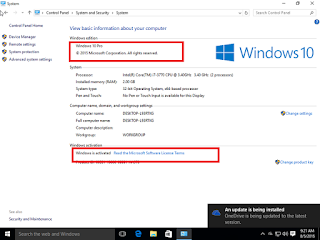 Download Windows 10 Pro or Professional edition preactivated 2015