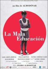 """Carátula del DVD: """"La mala educación"""""""