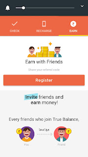 How to Refer And Earn True Balance Money