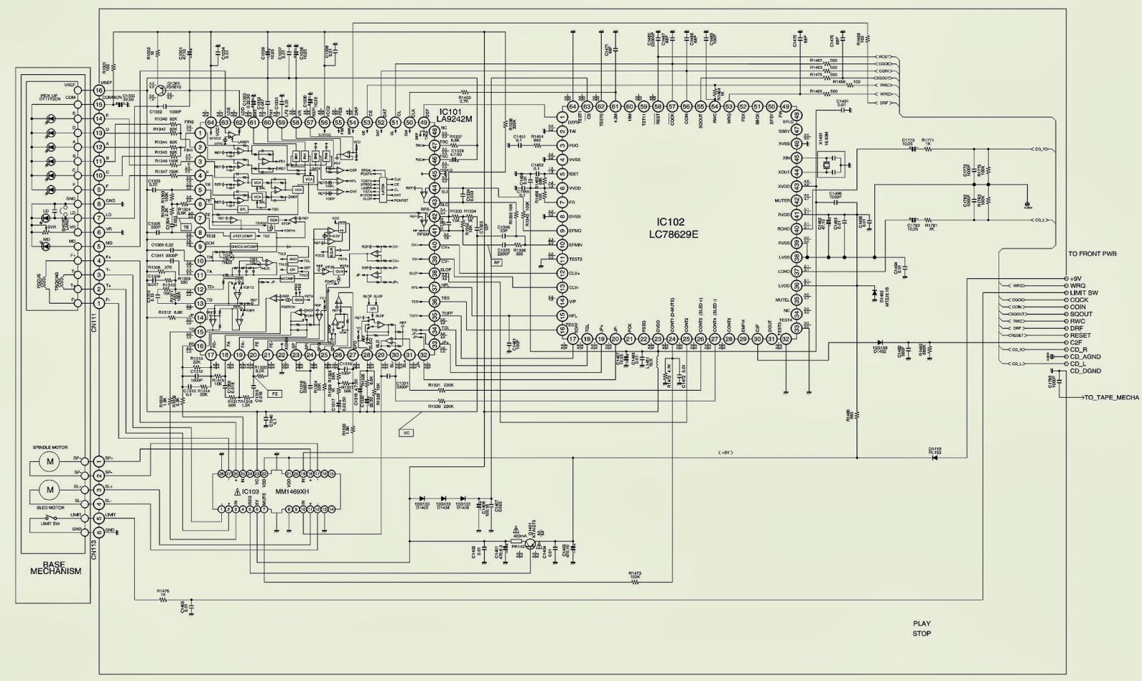 sanyo schematic diagram sanyo tv schematic diagram