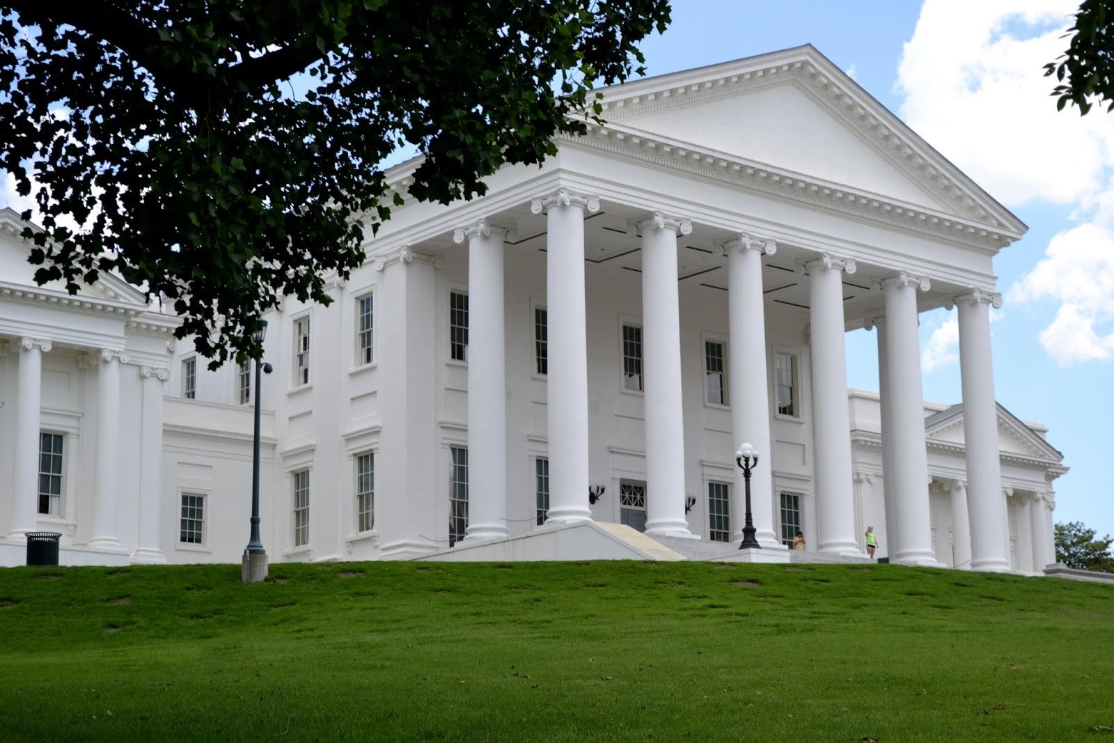 Капитолий. Ричмонд, Вирджиния (Virginia State Capitol. Richmond, VA)