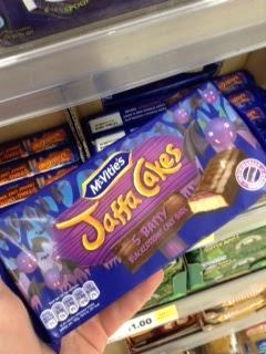 jaffa cakes blackcurrant cakes
