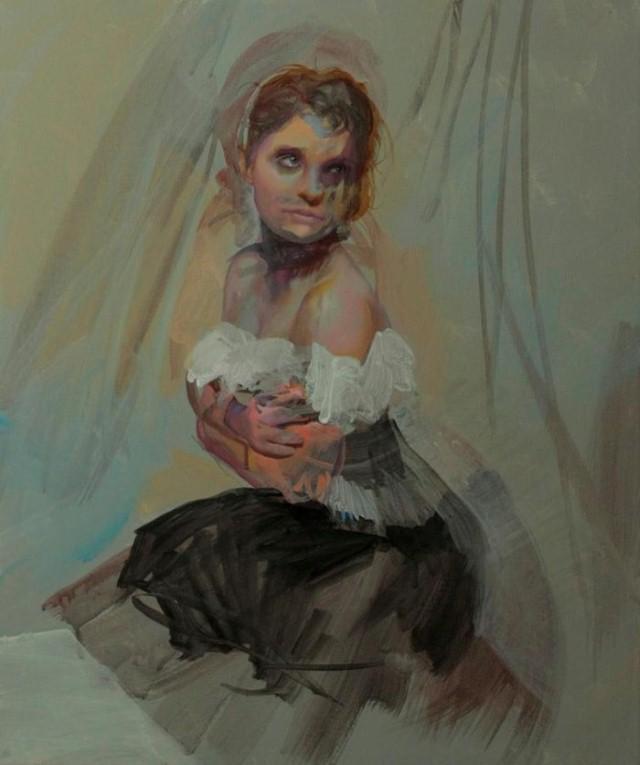 Реалистичная живопись. Anna Wypych 3