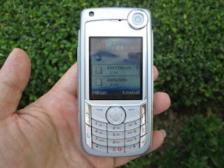Hape Jadul Nokia 6680 Seken Kolektor Item