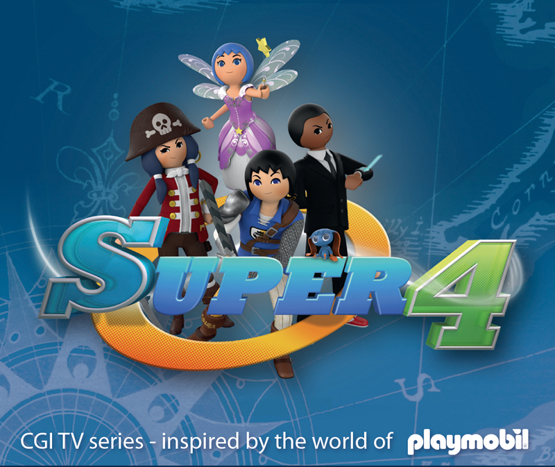 NickALive!: Nick Jr  Italy to Premiere Playmobil's 'Super 4