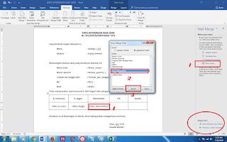Cara Membuat Mail Merge (Mailing) Di Word 6