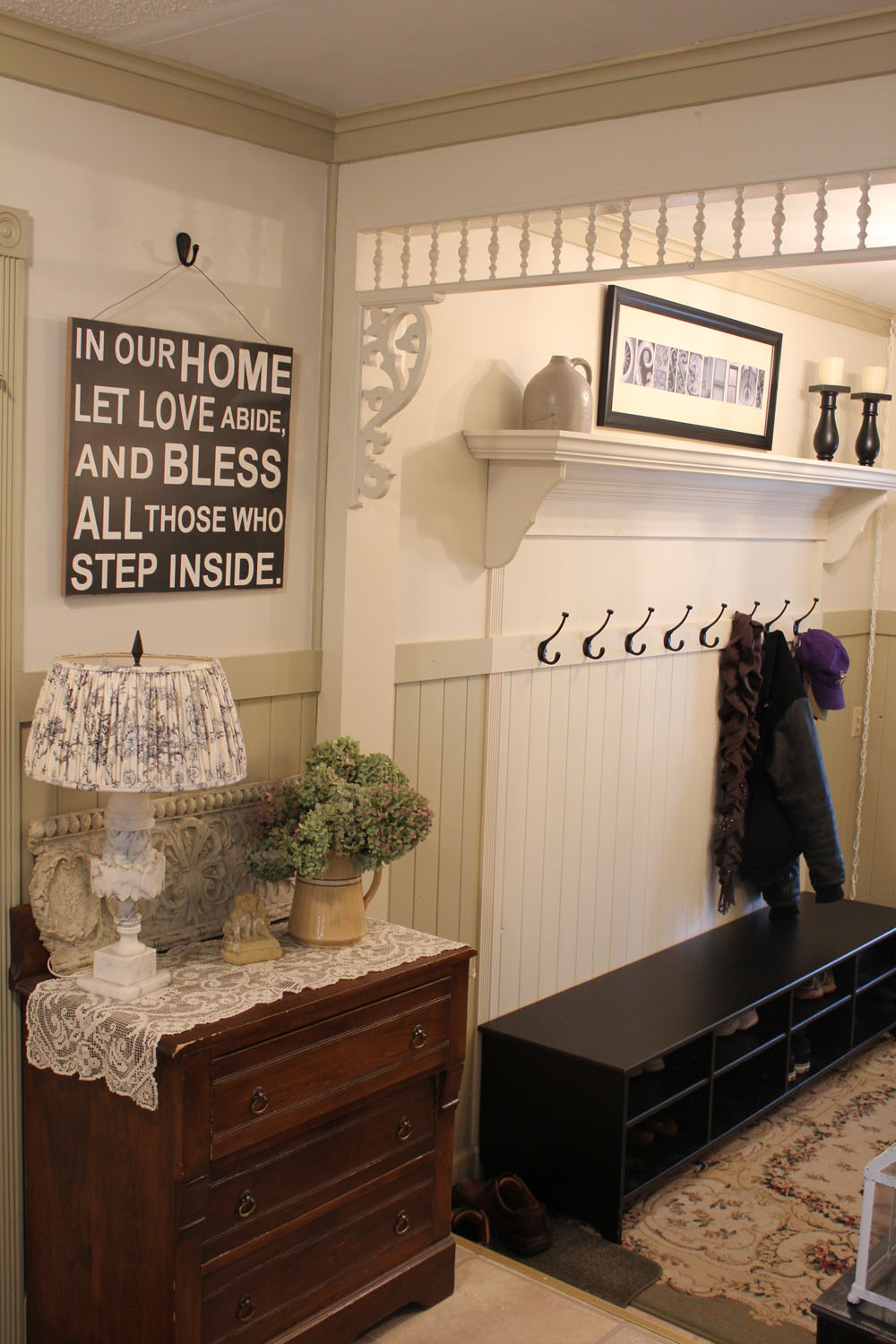 The Entryway Reveal Itsy Bits And Pieces Fuse Box Cover Ideas