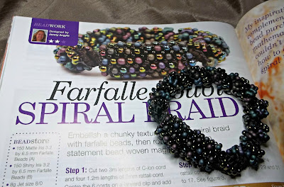 Braiding, bead weaving & bead embroidery projects in print!