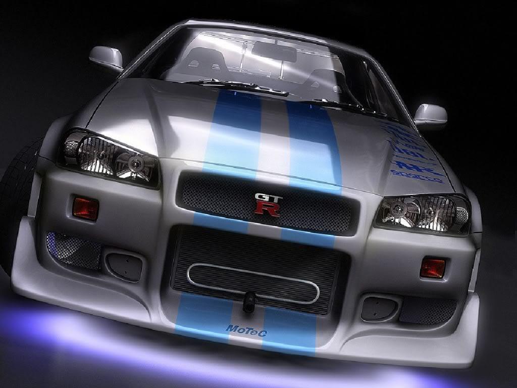 R34 Skyline Gtr >> Nissan Skyline GTR R34 : 2 Fast 2 Furious
