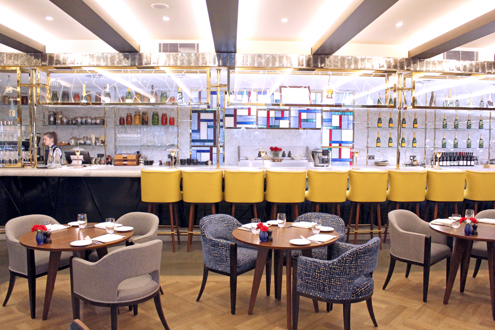 The Devonshire Club restaurant, City of London - UK lifestyle blog