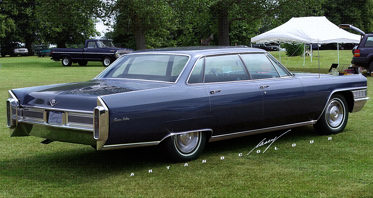 Casey Artandcolour Cars Short Deck 6 Window 1965