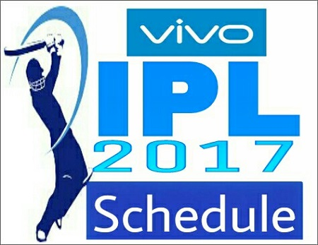 Indian Premier League - IPL 2017 Full Schedule: Date, Time of All the Matches