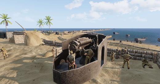 太平洋戦争や西部戦線を予定するArma3用の第二次世界大戦MOD Faces of War