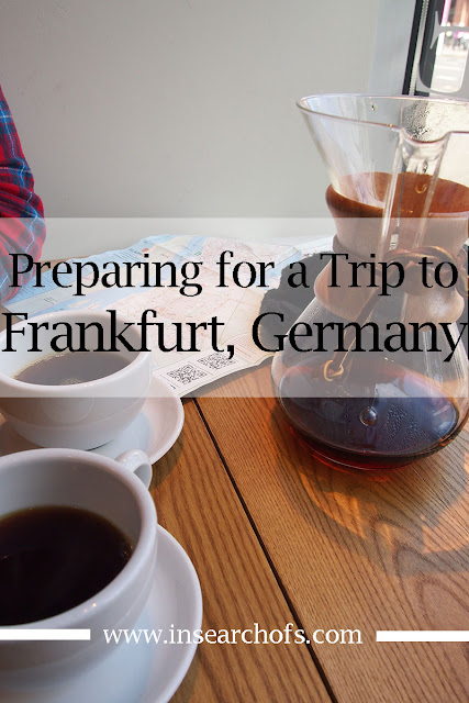 Family travel to Frankfurt, Germany