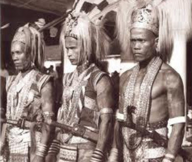 Panglima Perang Suku Dayak Panglima Burung Dan Panglima Kumbang