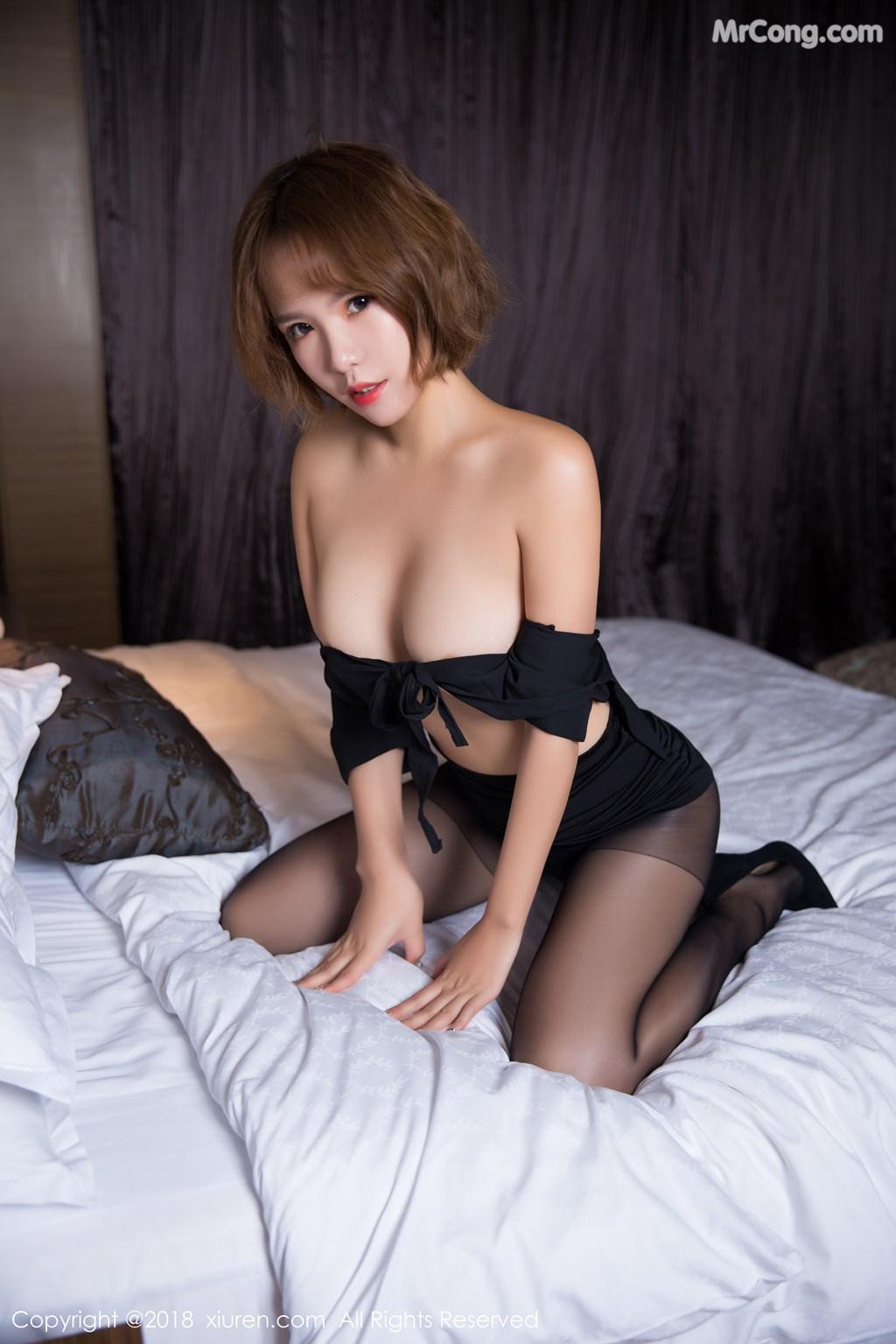 Image XIUREN-No.1264-Ya-Wen-MrCong.com-051 in post XIUREN No.1264: Người mẫu Ya Wen (雅雯) (61 ảnh)