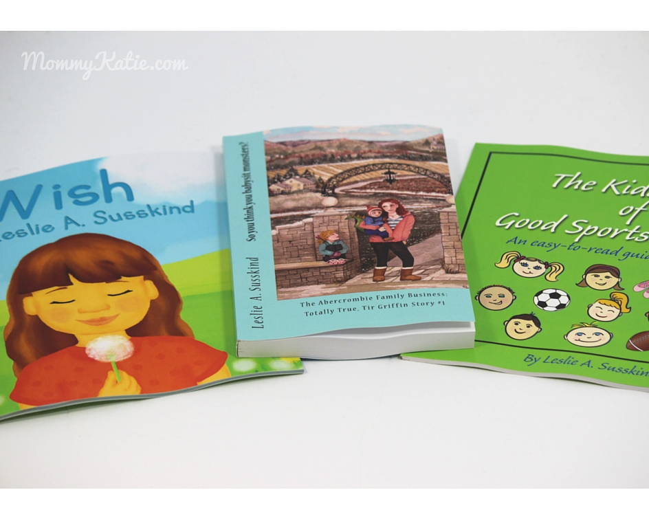 Books For The Kids From Leslie A  Susskind