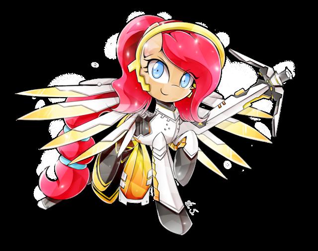 http://banzatou.deviantart.com/art/Commission-Bloom-Mercy-Cosplay-PiePinkie350-669450907