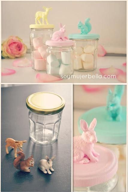 cómo personalizar frascos de vidrio paso a paso
