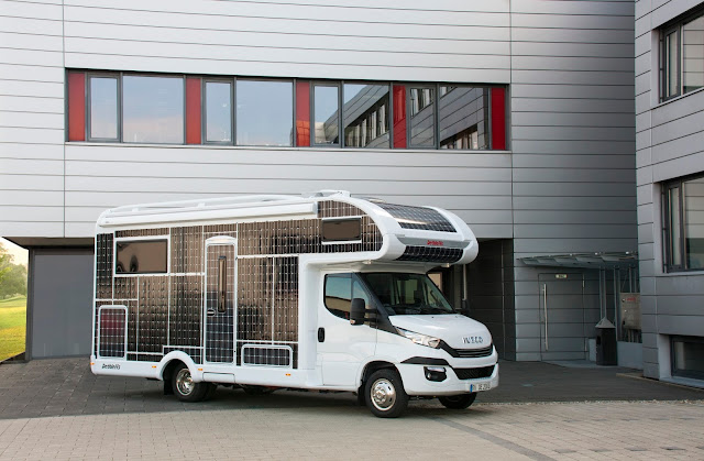 Motorhomes undergo the energy revolution