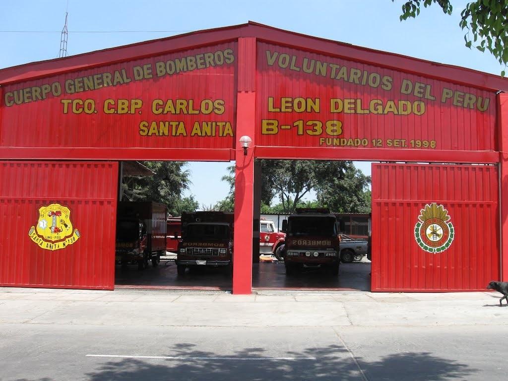 Estación de Bomberos Voluntarios Santa Anita - Técnico CBP Carlos León Delgado Nº 138