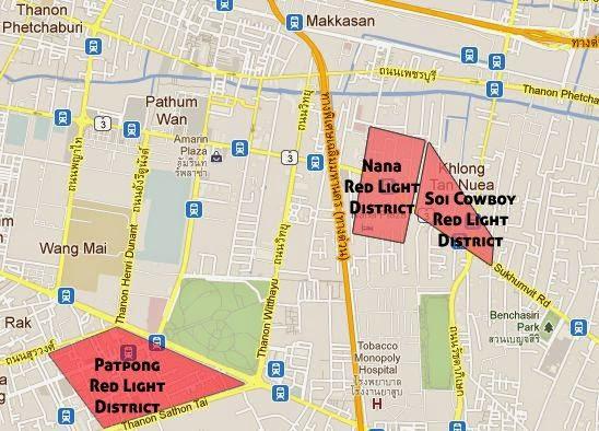 Bangkok Red Light Districts Hotels