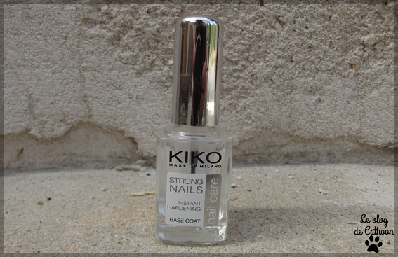 Kiko - Strong Nails - Instant Hardening - Base Coat