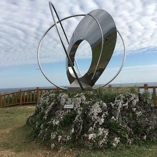 知念岬公園の像