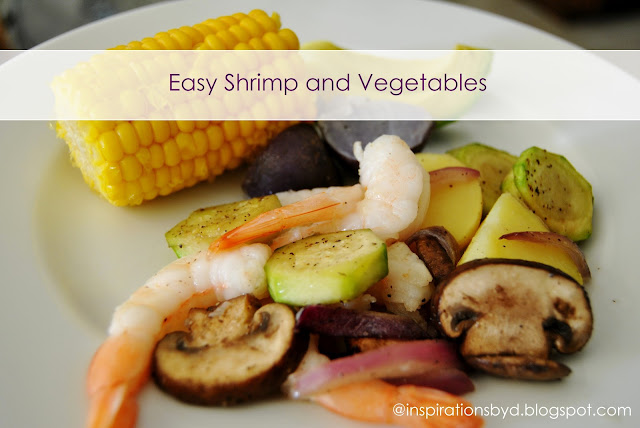 Easy Shrimp and Vegetables