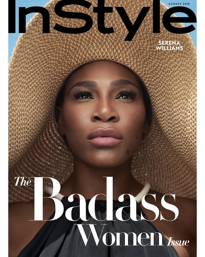 Serena Williams talks Motherhood, the Pressure to Perform & More in InStyle Magazine's Latest Issue