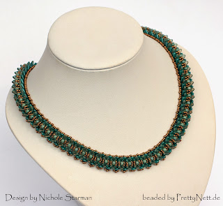 "Necklace ""Victory"" beaded by PrettyNett.de"