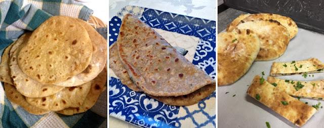Chapati - Paratha - Naan