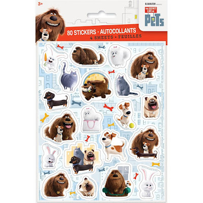 The Secret Life of Pets Stickers party favors pack of 24