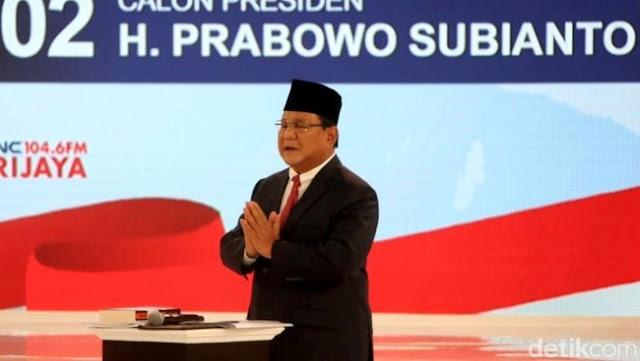 Paslon No 2 Kehabisan Darah, Ditanya Jokowi Soal Unicorn, Prabowo Linglung & Jawabnya : Takut Uang Kita Lari Ke Luar Negri