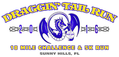 2016 Draggin' Tail Run logo